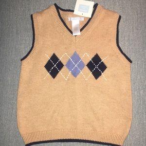 Janie and Jack sweater vest.